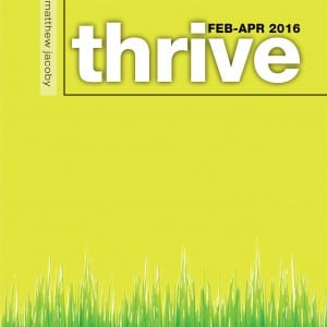 Thrive Mailed Subscription